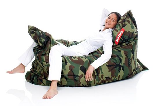 Fatboy Zitzak Camouflage.Fatboy Original Camouflage Nur In Unserem Ladengeschaft Erhaltlich