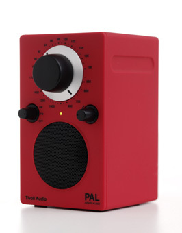 Tivoli Radio PAL sunset red