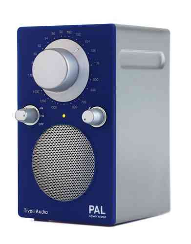 Tivoli Radio PAL Silverline blau