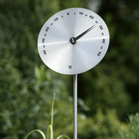 "Gartenthermometer ""Disk Classic"", 15 cm"